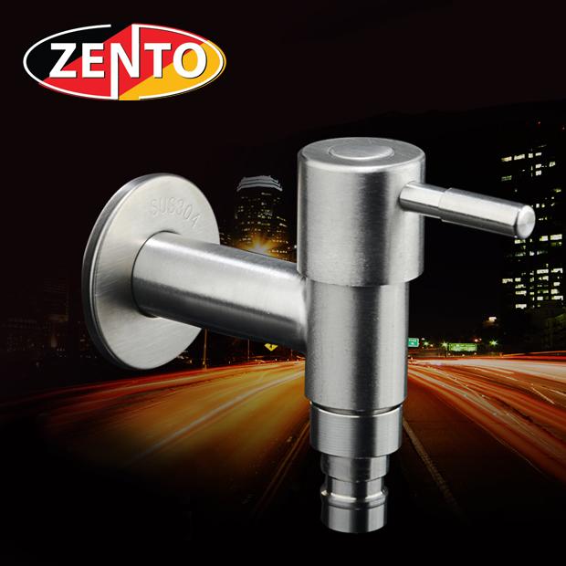 Vòi xả lạnh inox 304 Zento ZT703